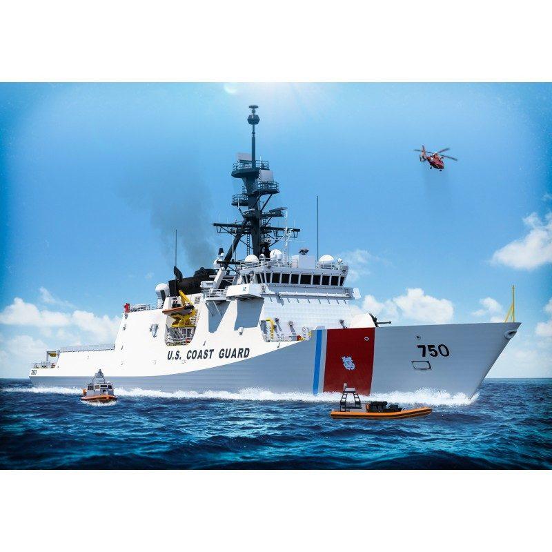 【新製品】350006 アメリカ沿岸警備隊 WMSL-750 バーソルフ