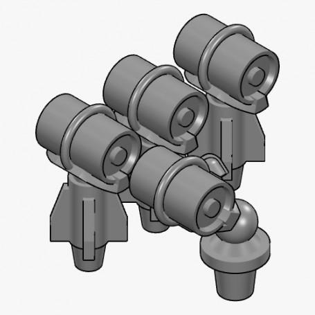 【新製品】AC350030e 爆雷投射機/Mk.6爆雷