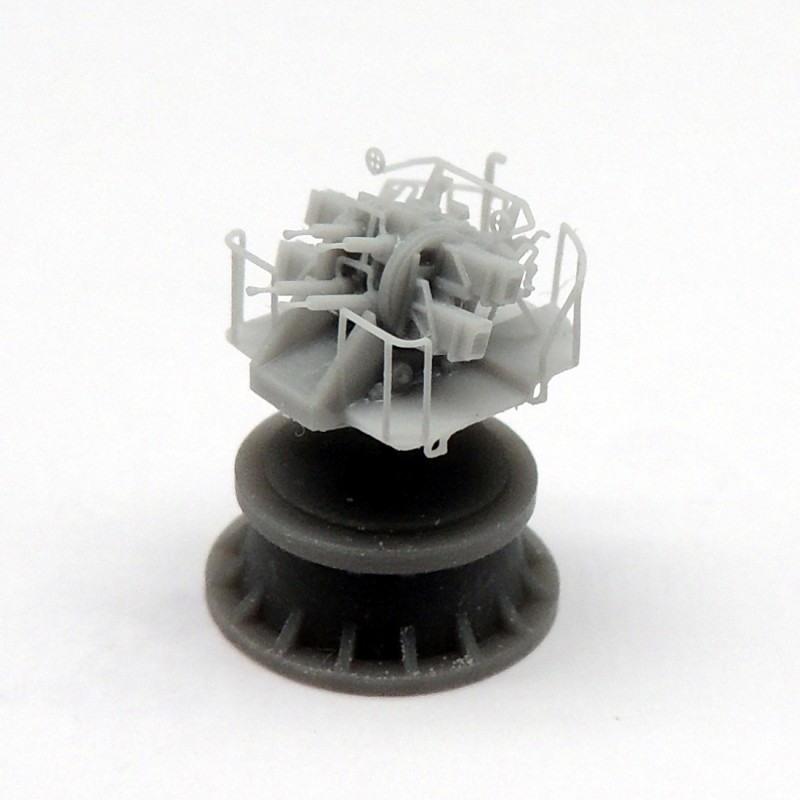 【新製品】AC350038 2ポンド ポンポン砲Mk.VIII 四連装 Mk.VIIマウント