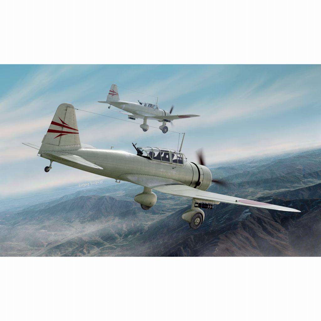 【新製品】CP72011 日本陸軍 Ki-51 九九式襲撃機