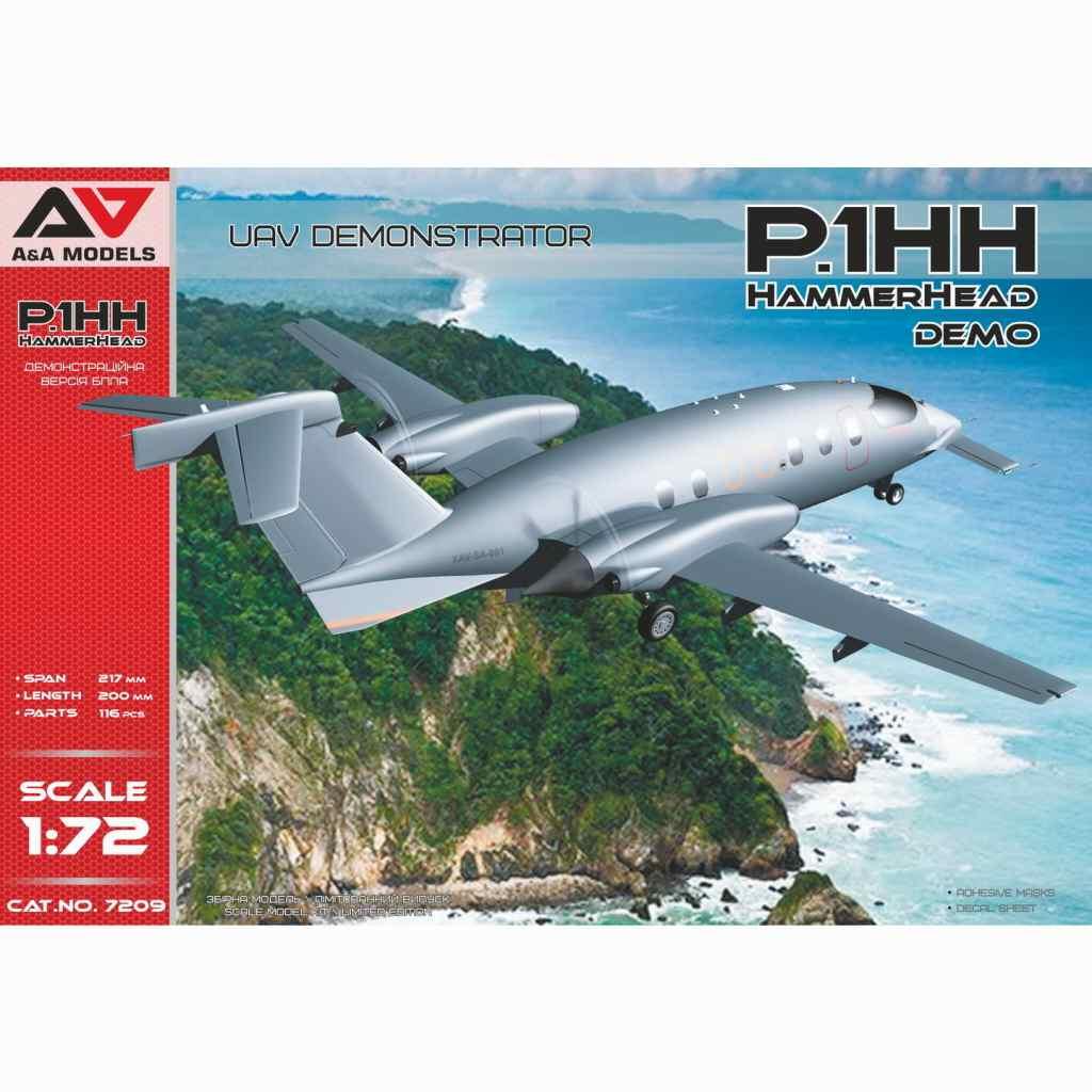 【新製品】7209 ピアッジョ・セレックス P.1HH ハンマーヘッド 無人偵察機 デモンストレーター