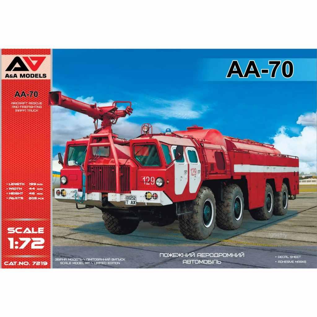 【新製品】7219 AA-70 空港用化学消防車