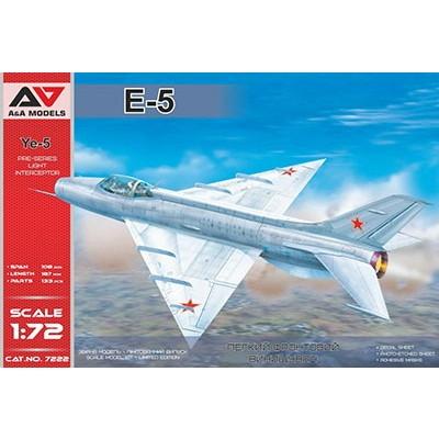 【新製品】7222 ミコヤン Ye-5 デルタ翼試作戦闘機