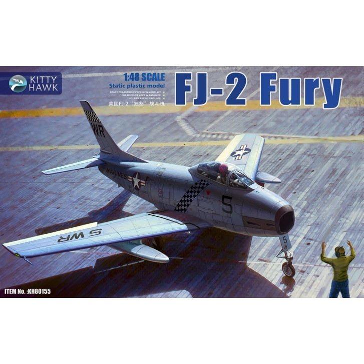 【新製品】KH80155 ノースアメリカン FJ-2 フューリー w/フィギュア2体