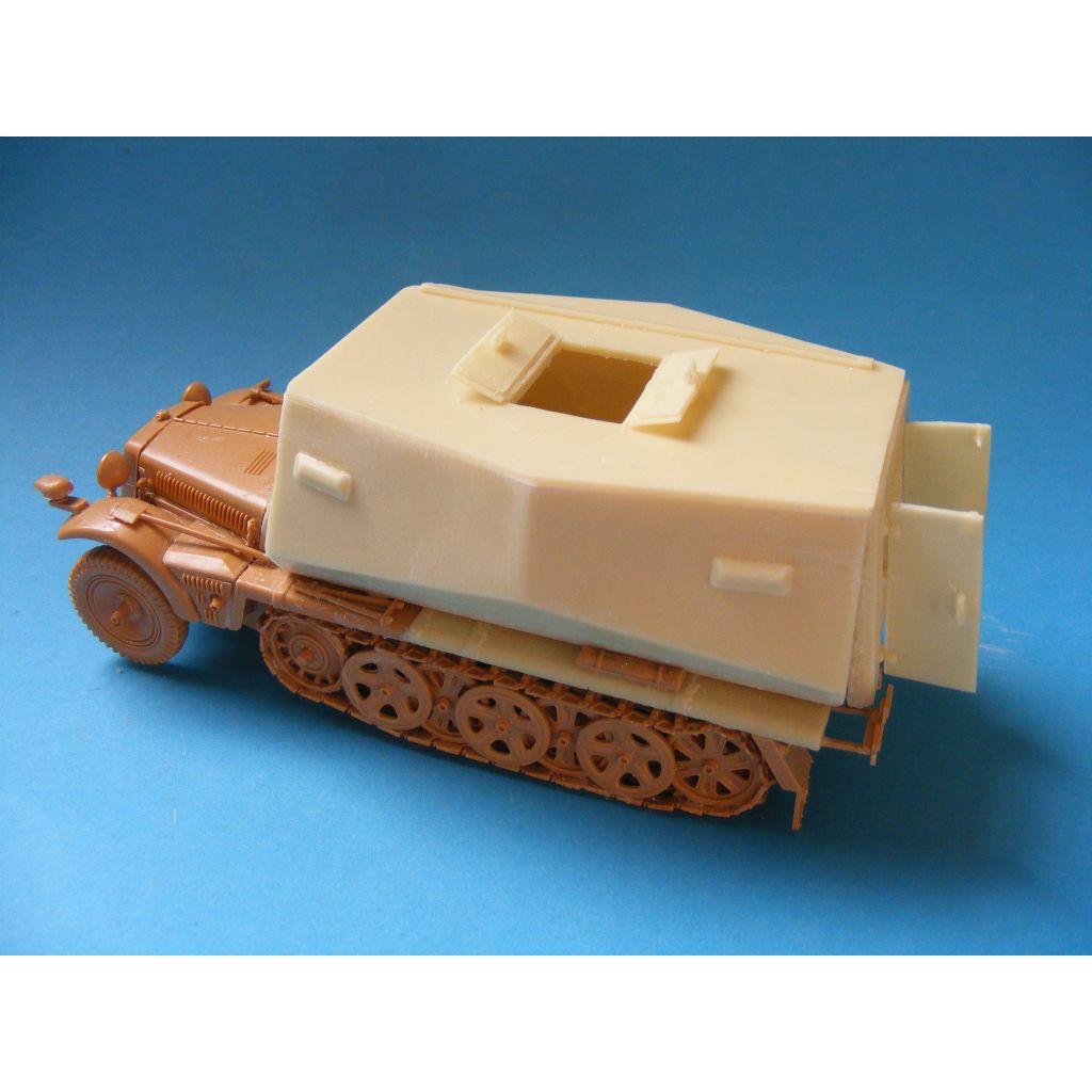 【新製品】1-05 Sd.Kfz.10 Funk- und Befehlswagen コンバージョンセット