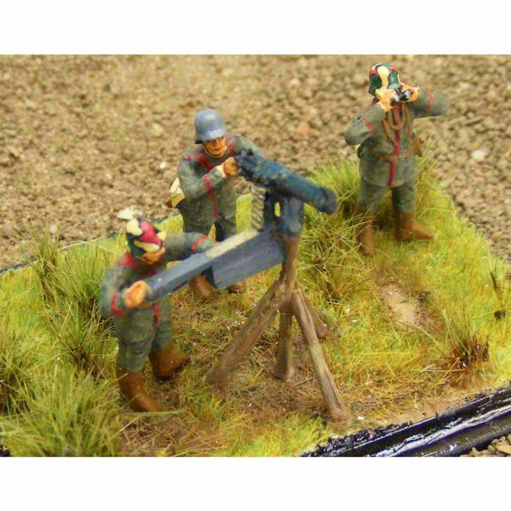 【新製品】100/005 WWI ドイツ 対空機関銃