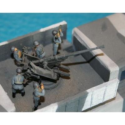【新製品】100/013 WWII ドイツ 2cm対空砲兵
