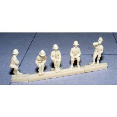 【新製品】100/021 WWII 日本兵 着座姿勢