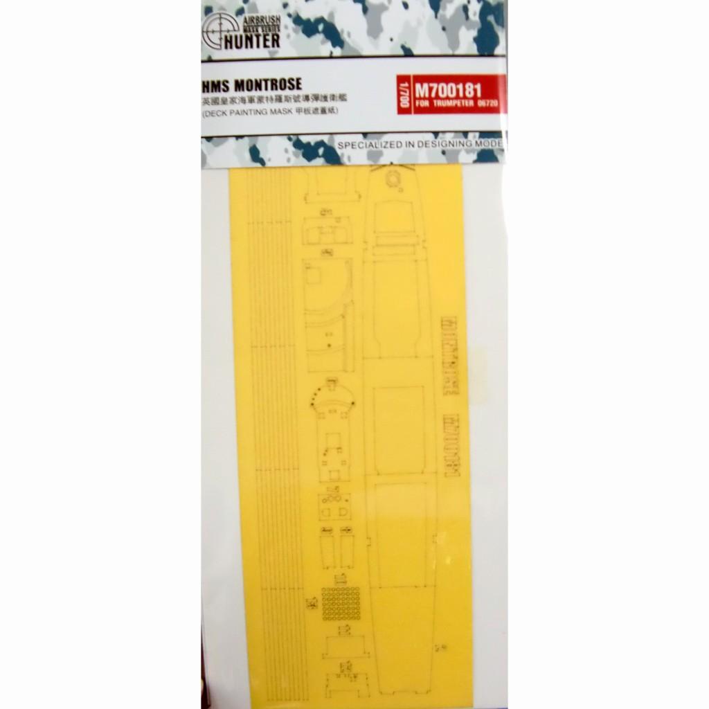 【新製品】M700181 英海軍 モントローズ F236用 マスキングシート