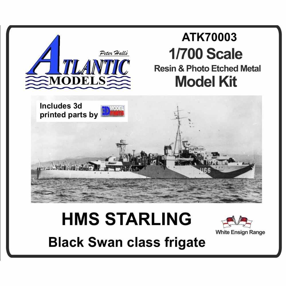 【新製品】ATK70003 英海軍 ブラックスワン級スループ スターリング Starling