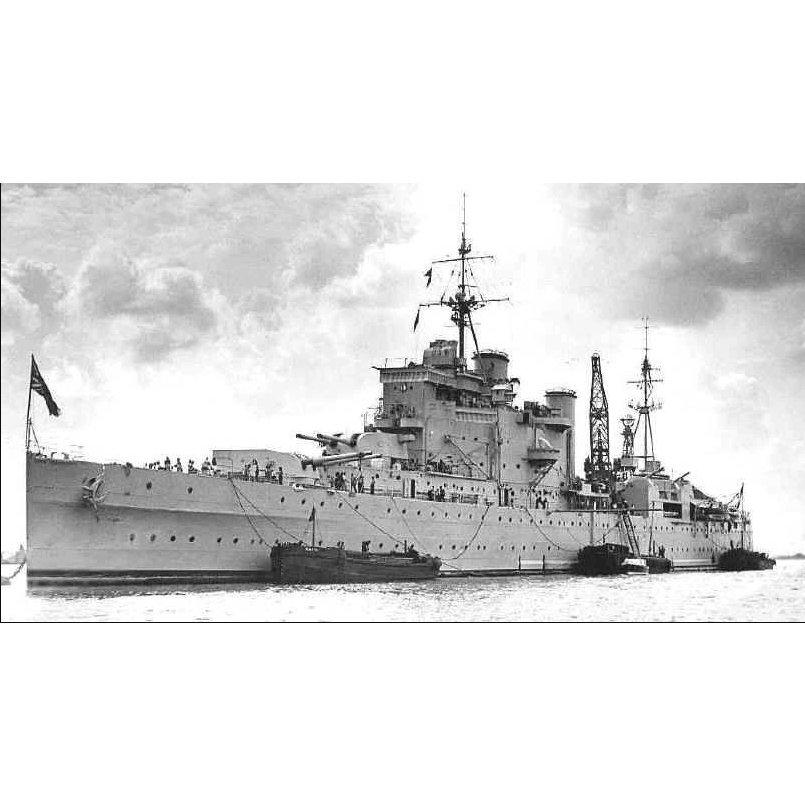 【新製品】ATK70028)英海軍 カントリー級重巡洋艦 ロンドン 1941 London