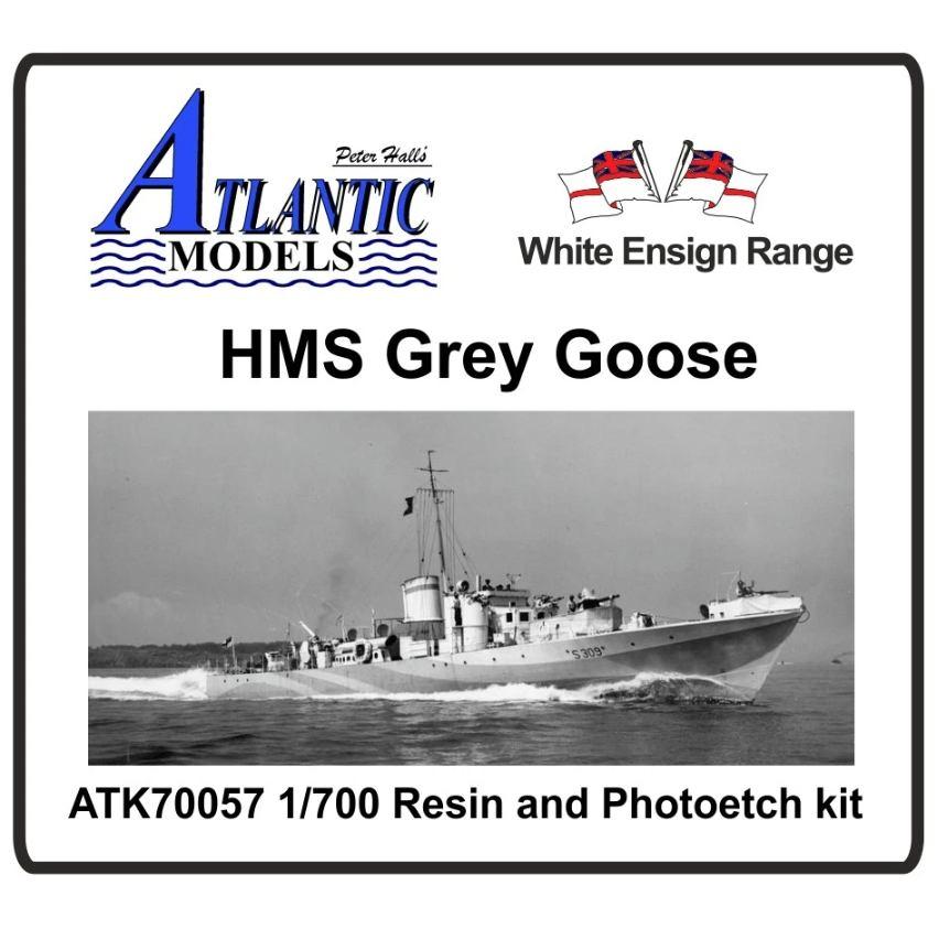 【新製品】ATK70057 英海軍 砲艇 グレイ・グース Grey Goose