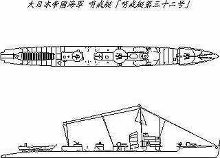 【再入荷】[2001007004105] SS-041)大日本帝国海軍 特務艇 第31号級哨戒艇 第32号哨戒艇
