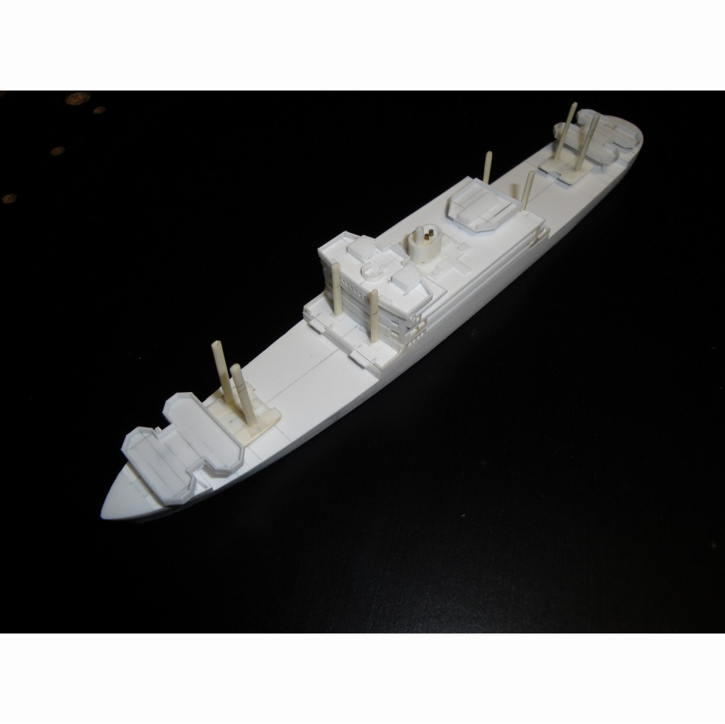 【新製品】SS-T-009N 陸軍特殊船 舟艇母船 玉津丸 リニューアル版