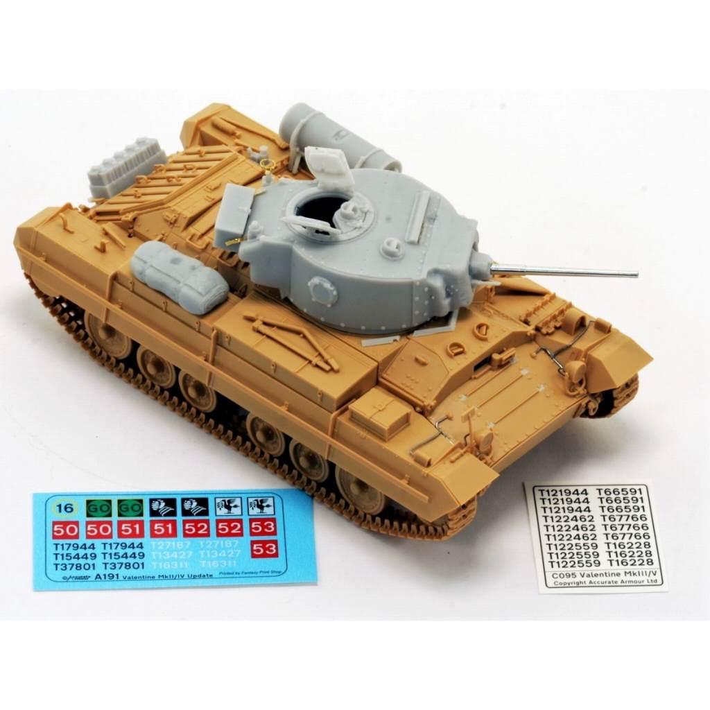 【新製品】C095 英 バレンタインMk.III コンバージョンセット