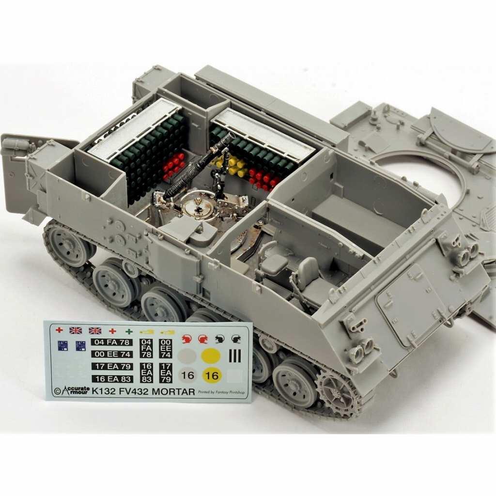 【新製品】C113 英 FV432 81mm モーターキャリア コンバージョン