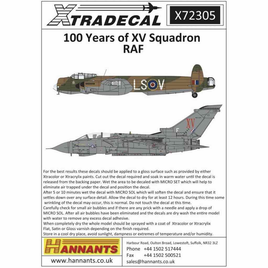 【新製品】X72305 イギリス空軍 第15飛行隊 100周年