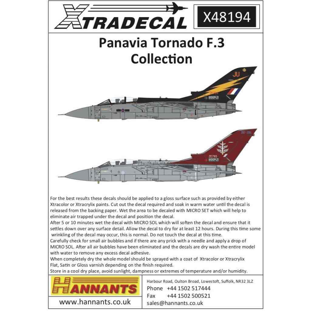 【新製品】X48194 パナビア トーネード F.3