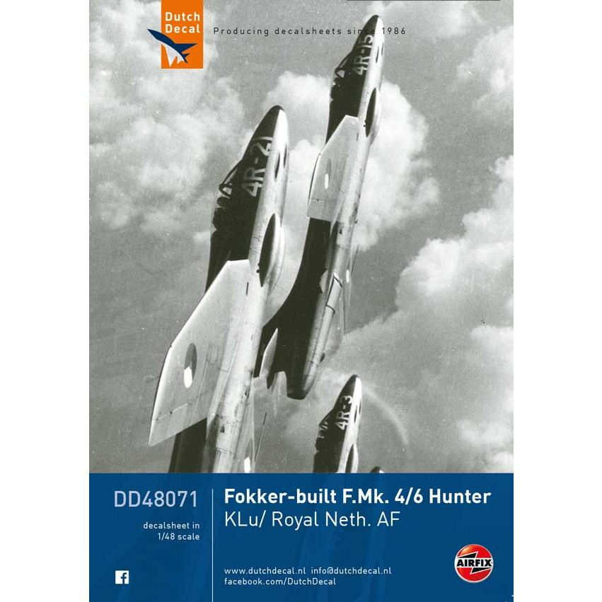 【新製品】DD48071 ホーカー ハンター F.Mk.4/6