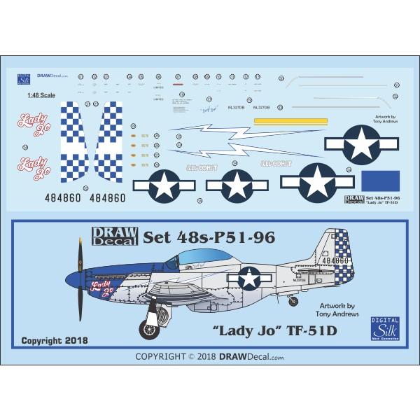 【新製品】Set 48s-P51-96 P-51D Lady Jo