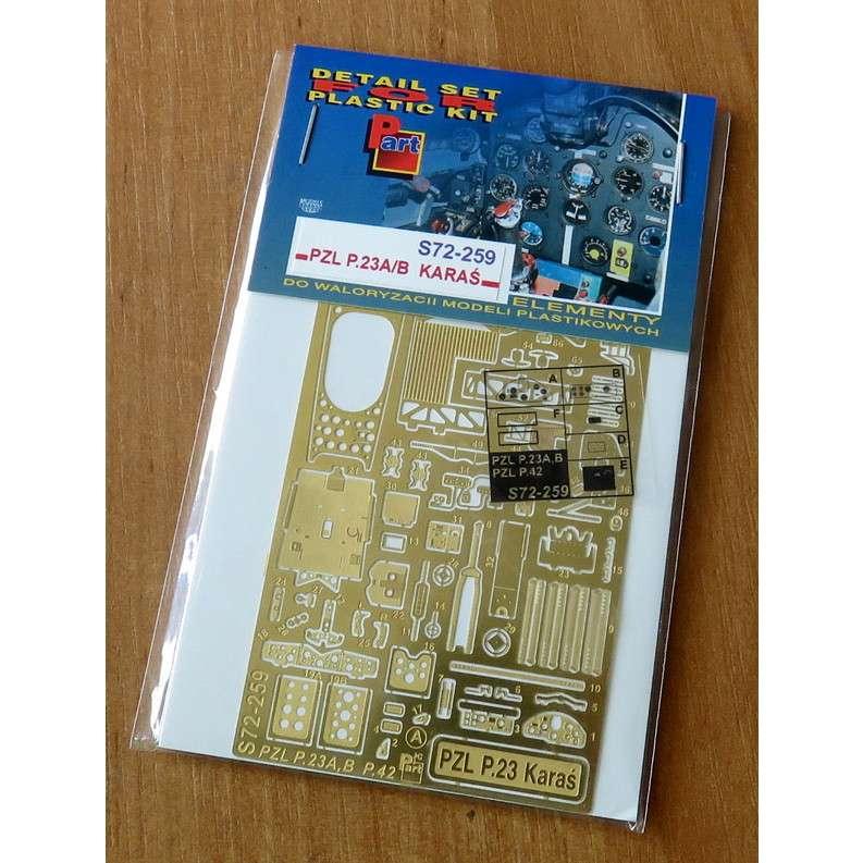 【新製品】S72259 PZL P-23 カラシュ