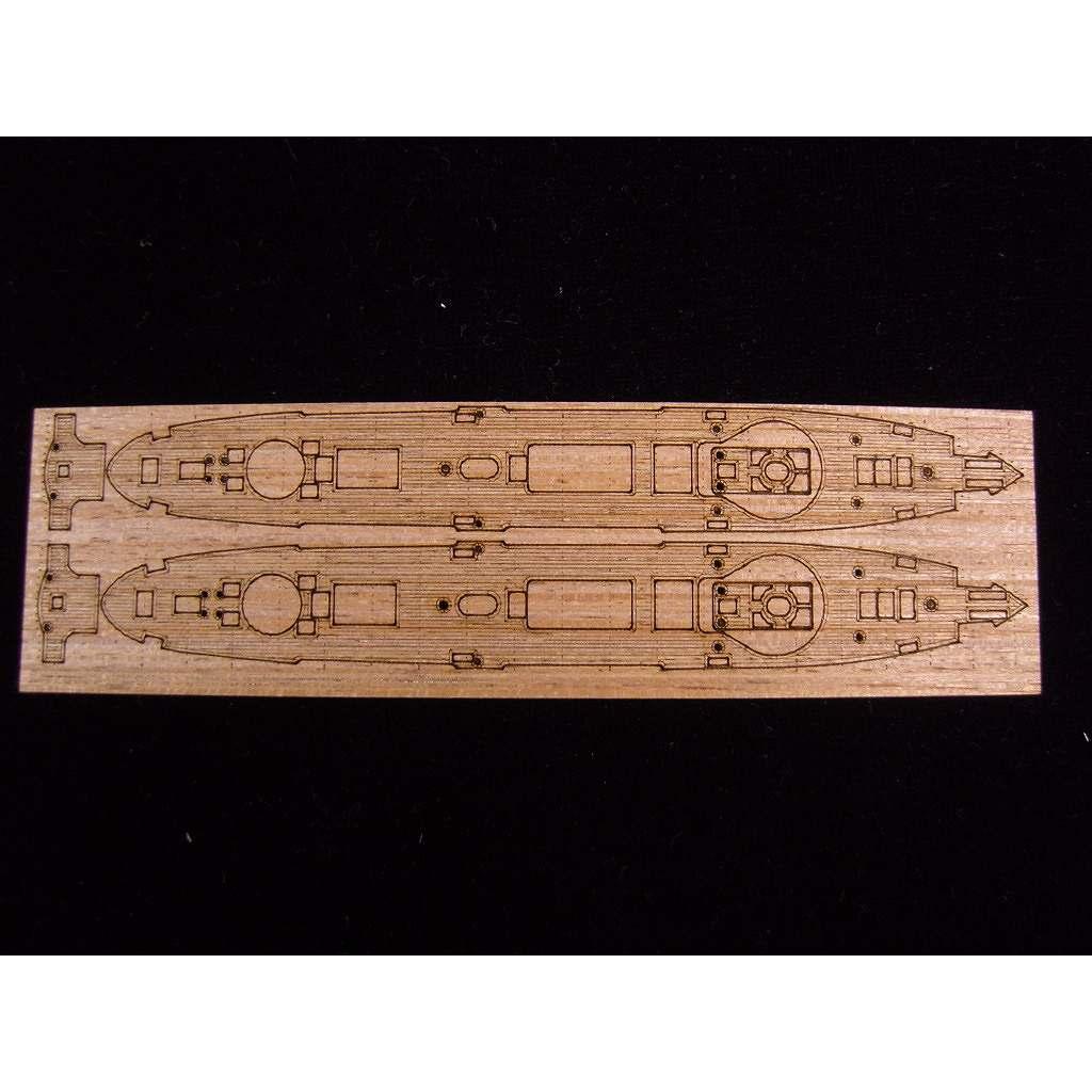 【新製品】AW20059 防護巡洋艦 済遠用 木製甲板