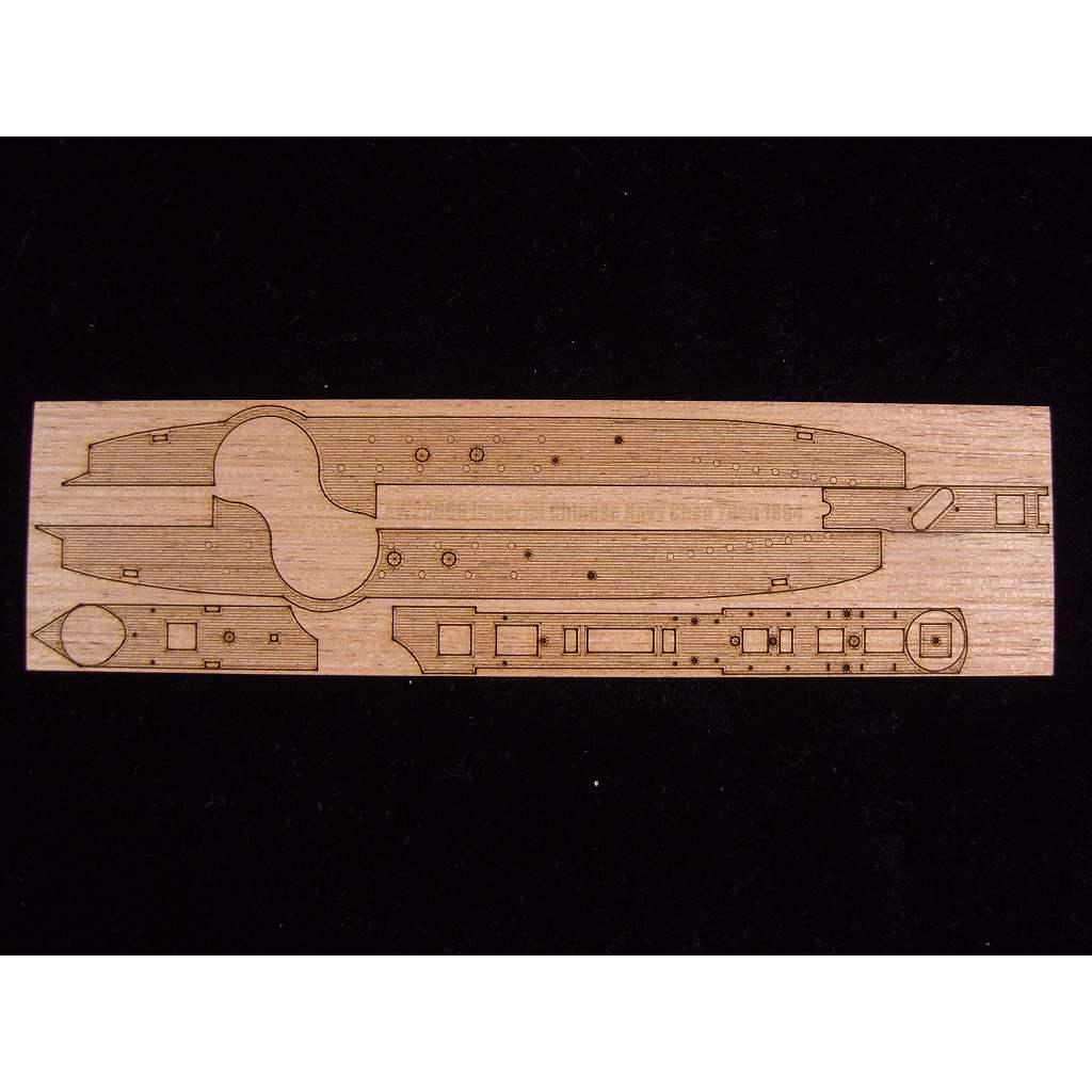 【新製品】AW20066 装甲艦 鎮遠 1894用 木製甲板