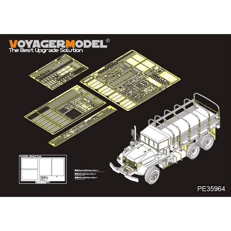【新製品】PE35964 現用 米 M54A2 5tトラック 基本セット