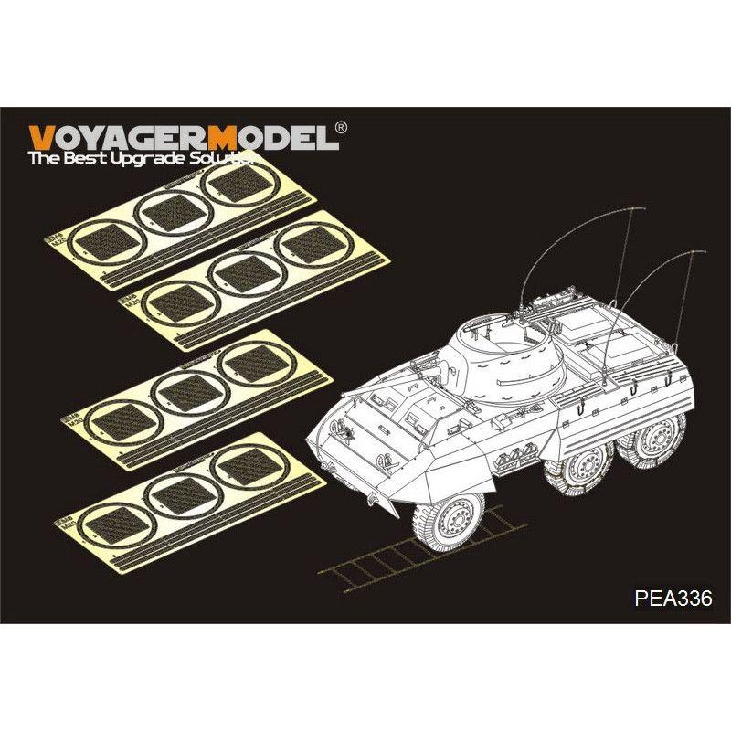 【新製品】PEA336 WWII アメリカ M8/M20 装甲車 タイヤチェーンセット