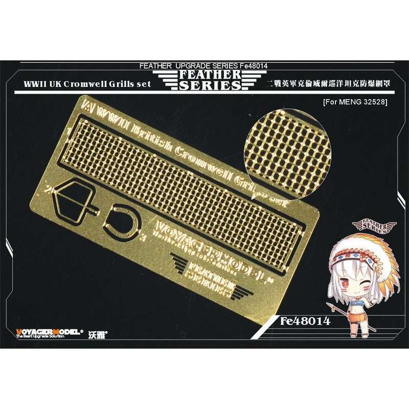 【新製品】FE48014 WWII 米 クロムウェル グリルセット
