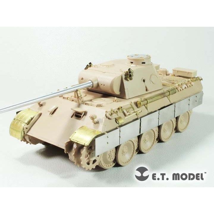 【新製品】E35-274 WWII 独 パンターD型(中/後期生産型)セット