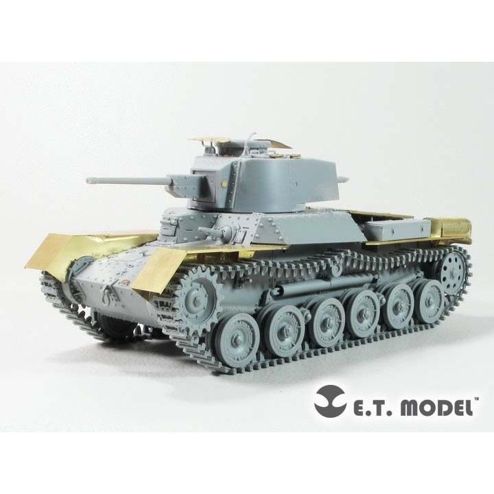 【新製品】E35-277 WWII 中国人民解放軍(PLA) 九七式中戦車「功臣号 Gong Chen Hao」