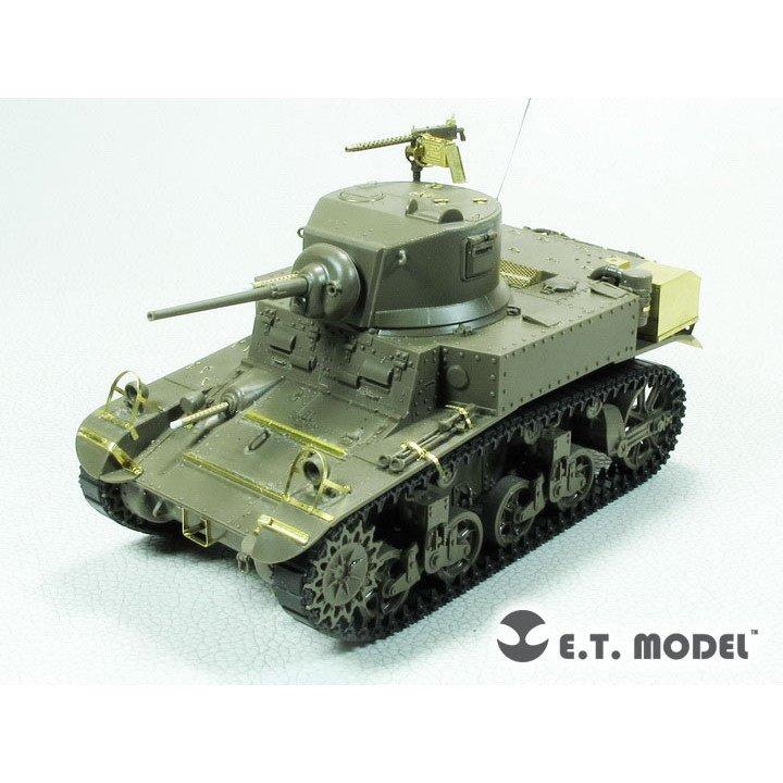 【新製品】E35-280 WWII 米 M3 スチュアート 軽戦車 後期型