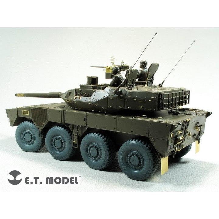 【新製品】ER35-069 陸上自衛隊 16式機動戦闘車 加重タイヤ&ホイールセット