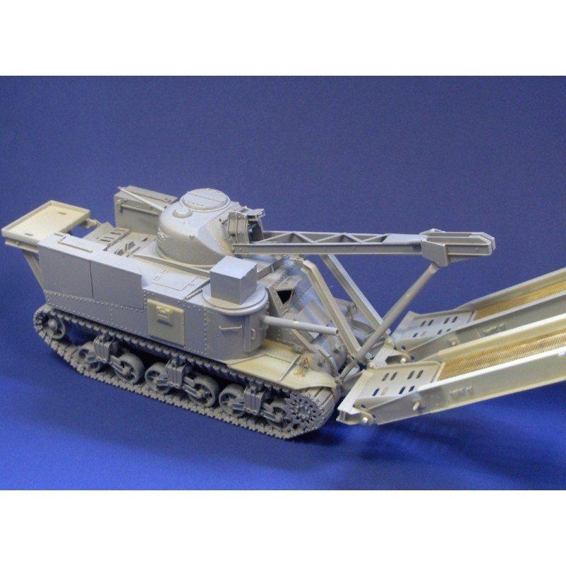 【新製品】351274 イギリス M31戦車回収車 架橋戦車 架橋パーツ