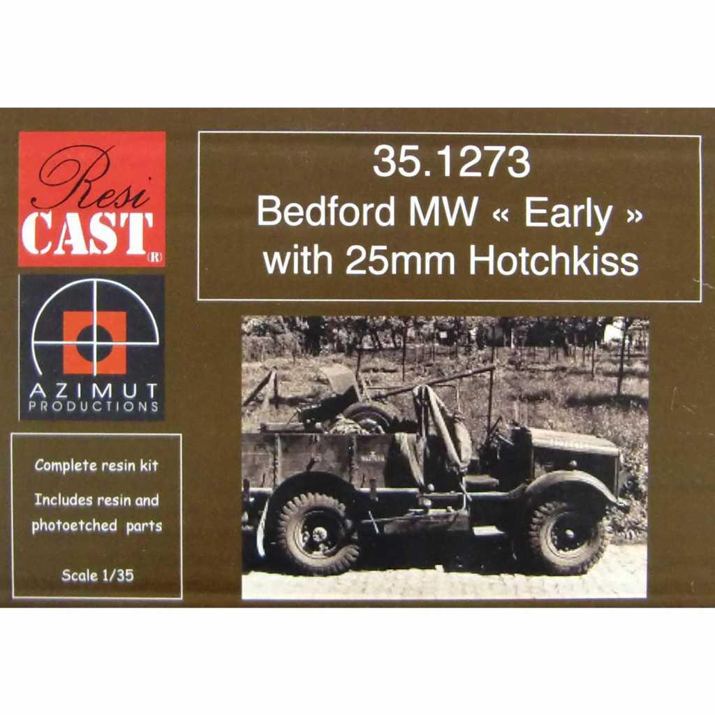 【新製品】351273 ベッドフォード MWトラック 初期型 w/25mm オチキス機銃