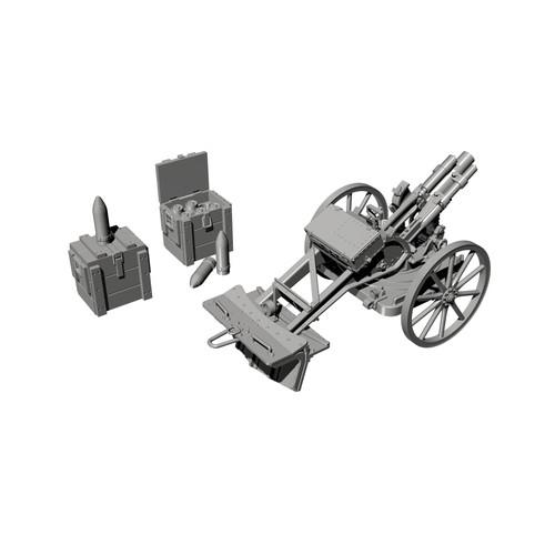 【新製品】RA059 独軍 WW.I 7.58cm ライヒター・ミーネンヴェルファーn/A