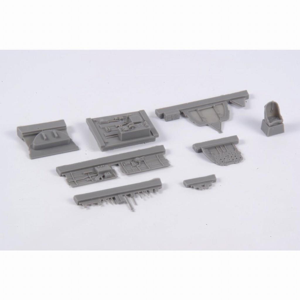 【新製品】4370 三菱 局地戦闘機 雷電二一型 コックピットセット