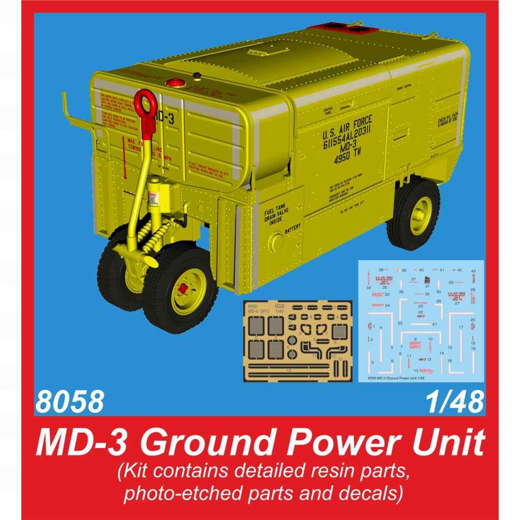 【新製品】8058 米空軍 MD-3 航空機発電機