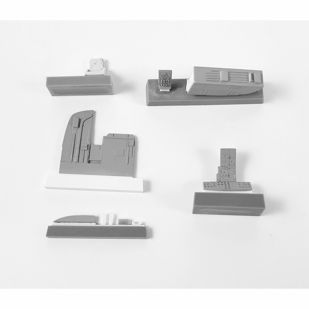 【新製品】7421)ウェストランド シーキング HC.4 コクピットセット