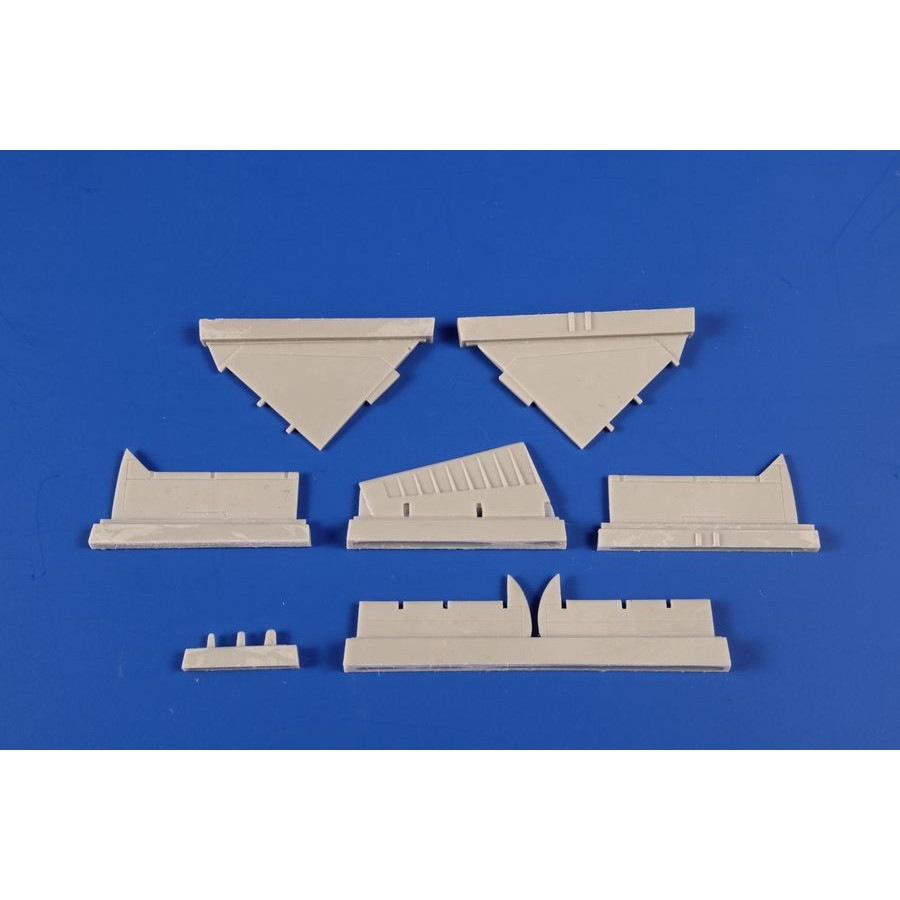 【新製品】7432 ダグラス A-4B/Q スカイホーク コントロールサーフェイス (エアフィックス用)