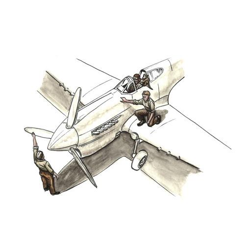【新製品】F72344 英空軍 パイロット&整備兵 北アフリカ