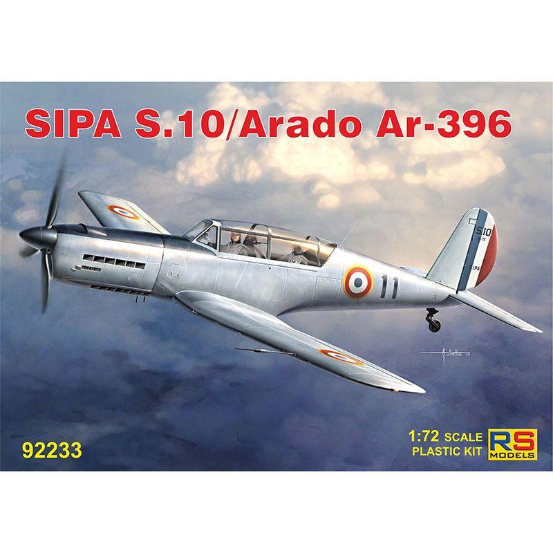 【新製品】92233 SIPA S.10 / アラド Ar396