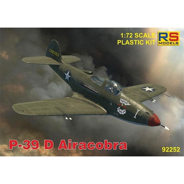 【新製品】92252 P-39 D/F/K エアラコブラ