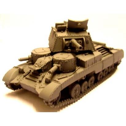 【新製品】BB31 巡航戦車 Mk.I CS (A9) 3.7インチ榴弾砲搭載型 北アフリカ