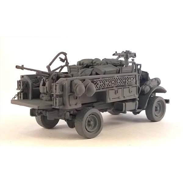 【新製品】UK348 フォード F30 4x4 30cwt トラック LRDG w/20mm ブレダ