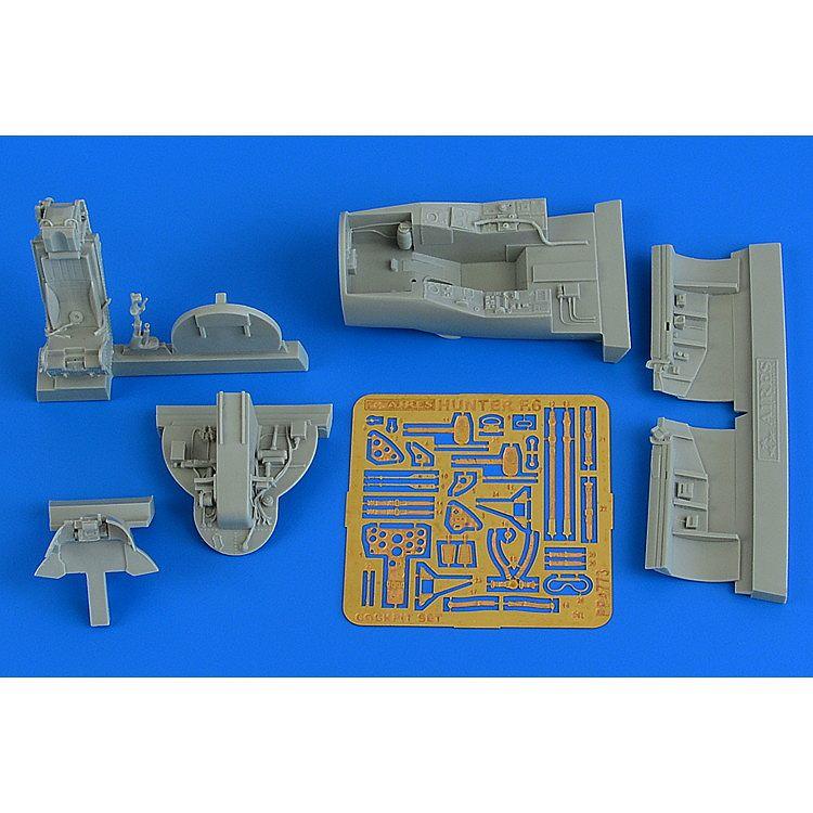 【新製品】4773 ホーカー ハンターF.6 コクピットセット
