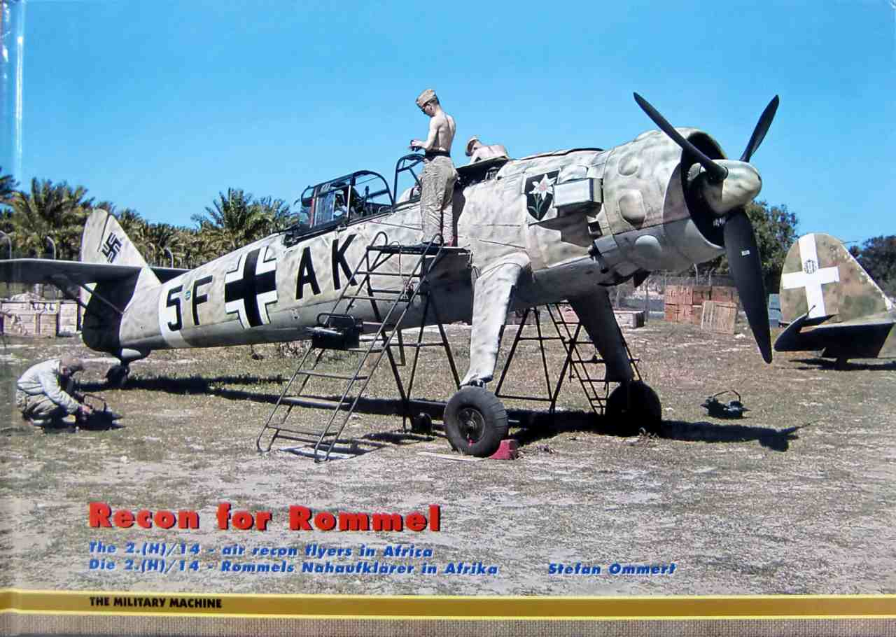 【新製品】THE MILITARY MACHINE)Recon for Rommel The 2.(H)/14 - air recon flyers in Africa