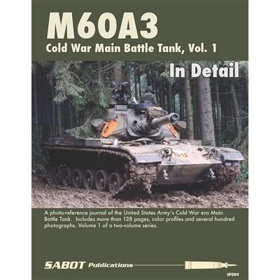 【新製品】SABOT Publications SP009 M60A3 パットン Vol.1