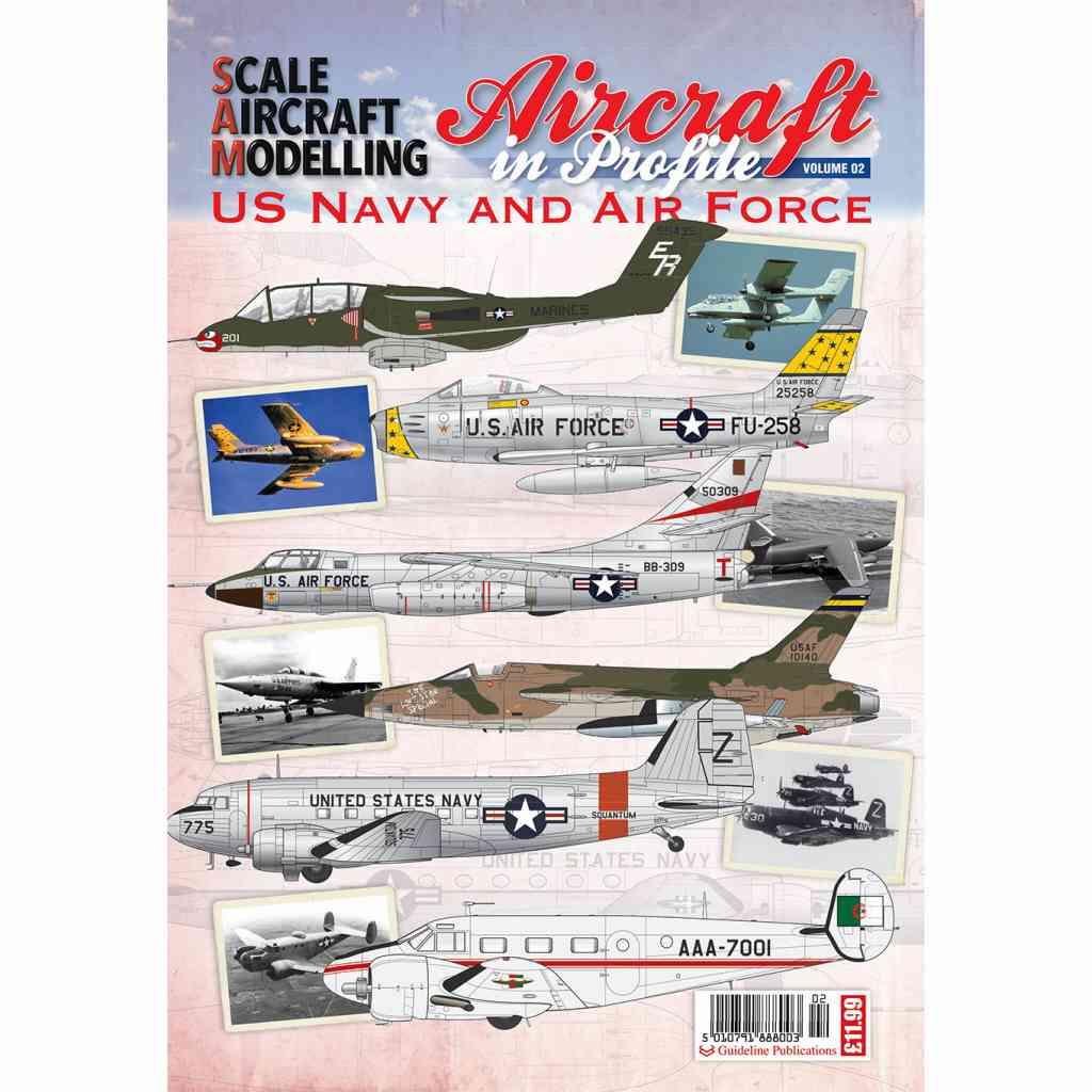 【新製品】SCALE AIRCRAFT MODELLING)AIRCRAFT IN PROFILE US Navy and Air Force Vol 1